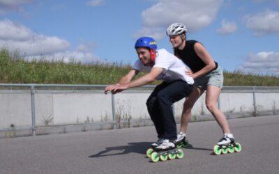 Instruktørtræning med landsholdet i speedskating